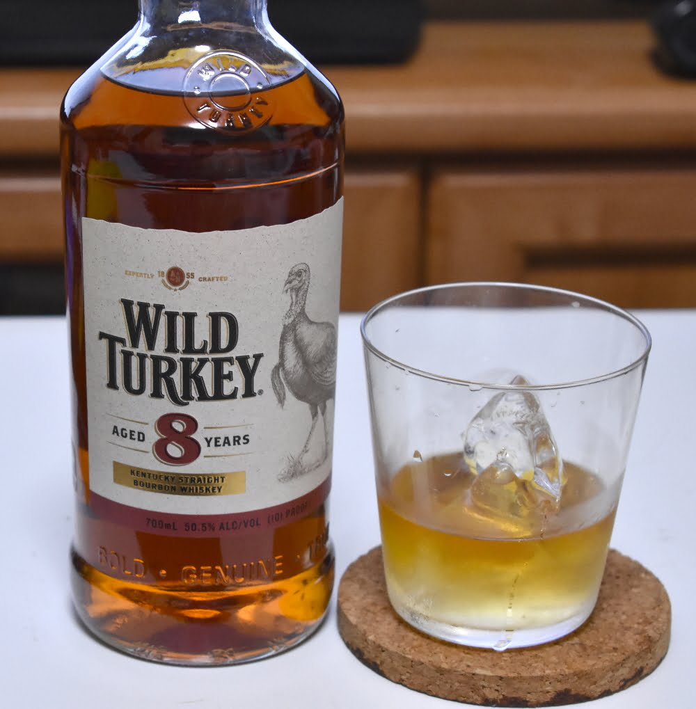 ワイルドターキー 8年 良質なバーボンをレビュー